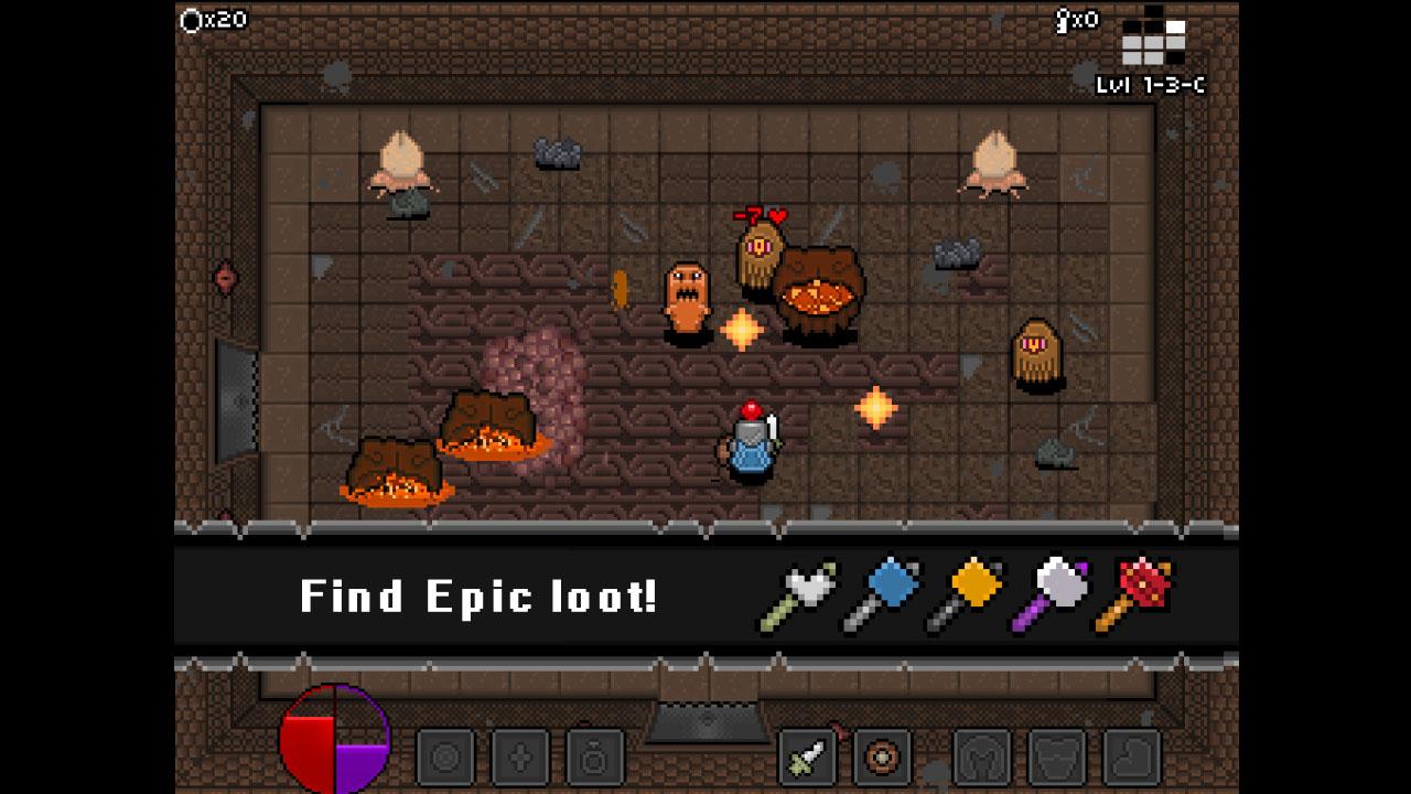 Screenshot of bitDungeon