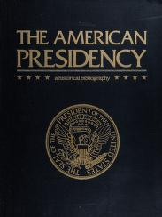 Cover of: The American presidency |