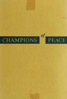 Cover of: Champions of peace | Edith Patterson Meyer