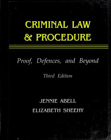 Cover of: Criminal Law & Procedure  