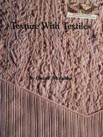 Cover of: Texture with Textiles |