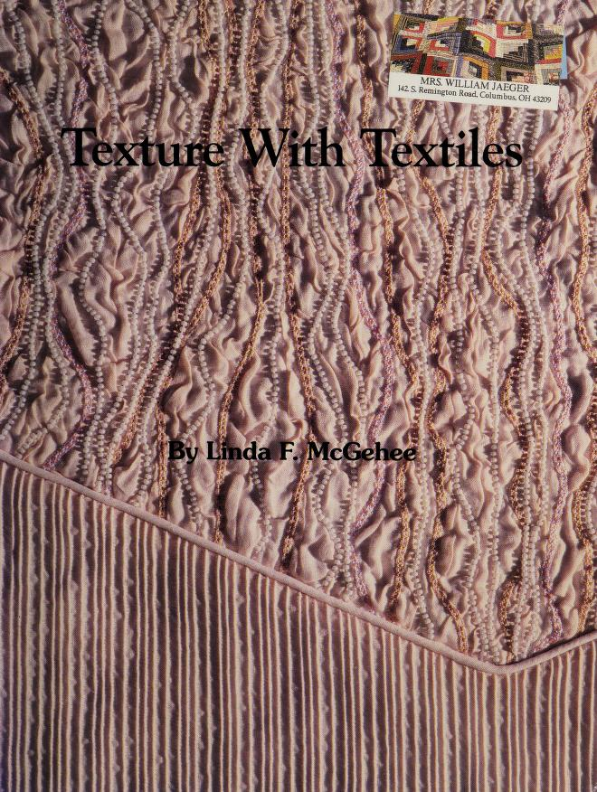 Texture with Textiles by